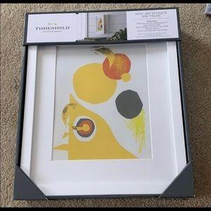 Kids art storage and frame